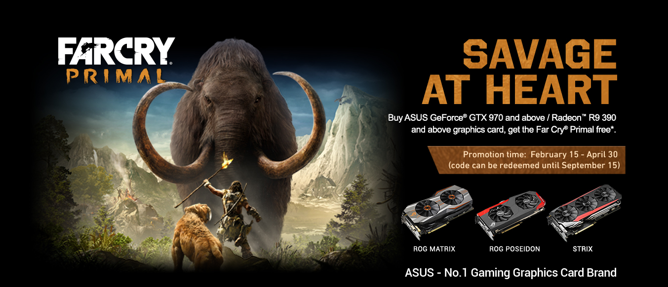 ASUS-Graphics-Card-with-Exclusive-Far-Cry-Primal-Game-Bundle