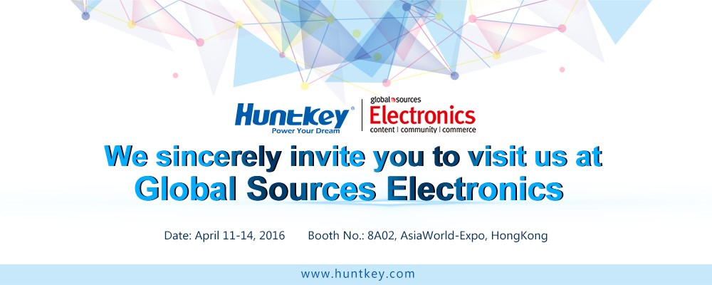 Huntkey Global Sources Electronics Show HK