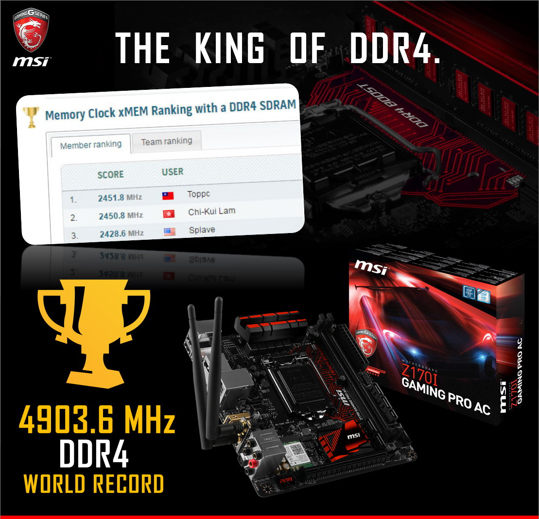 msi_z170i_gaming_pro_ddr4_world_record
