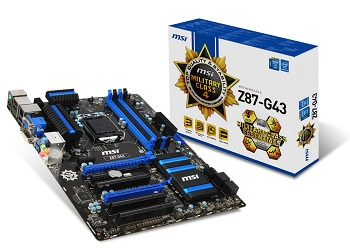Mainboard MSI Z87-G43