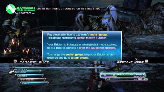 [PC] Final Fantasy XIII - The beauty of Odin